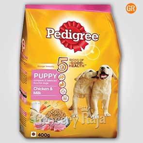 Pedigree Dog Food with Chicken & Milk - Puppies 400 gms