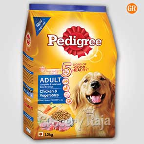 Pedigree Dog Food with Chicken & Vegetables - Adult 1.2 Kg