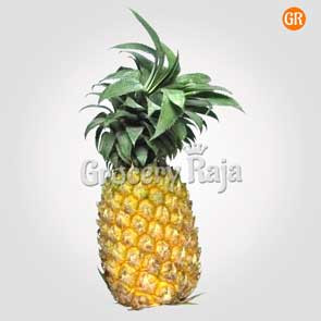 Pineapple 1 pc (அன்னாசிப்பழம்) (approx 1 Kg to 1.5 Kg)