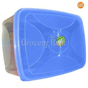 Plastic Box Storage Container 10 x 7 Inches No. 666