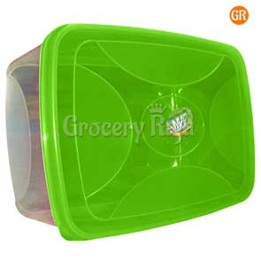 Plastic Box Storage Container 11 x 7.5 Inches No. 777 [13 CARDS]