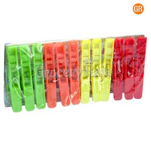 Plastic Cloth Clip 12 Pcs