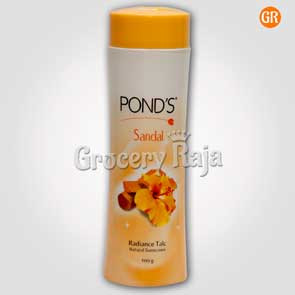 Ponds Sandal Radiance Talc 100 gms
