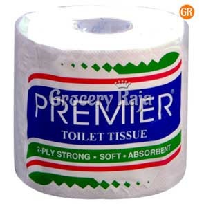 Premier Toilet Tissue 2 Ply Roll 190 Sheets