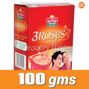 Brooke Bond Tea - 3 Roses 100 gms Carton