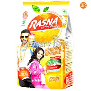 Rasna Fruit Plus Orange 500 gms