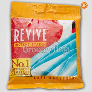 Revive Anti Bacteria Fabric Stiffener - Instant Starch 50 gms Pouch