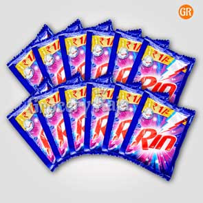Rin Detergent Powder Rs. 1 Sachet (Pack of 12)