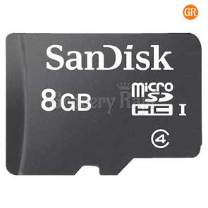Sandisk Micro SDHC 8GB Memory Card