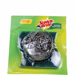 Scotch Brite Pad - Steel Scrub 6 pc