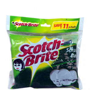 Scotch Brite Scrub Pad 10 x 14 cm 3 pc