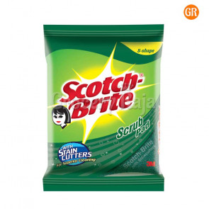 "Scotch Brite Scrub Pad 3"" X 3"" 1 pc Rs. 10"