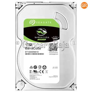 Seagate New BarraCuda 1 TB Hard Disk [340 CARDS]