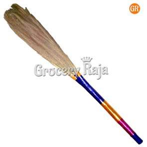 Sona Grass Broom for Tiles Floor 1 Pc [15 CARDS]