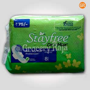 Stayfree Dry-Max Ultra Dry With Wings 8 Pads