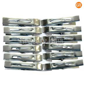 Steel Cloth Clip 12 Pcs