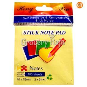 Sticky Note 3x3 Inch