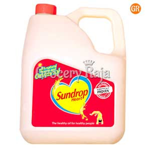 Sundrop Heart Vegetable Oil 2 Ltr