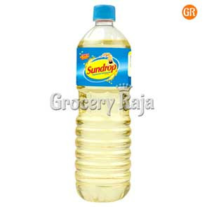 Sundrop Superlite Advanced Sunflower Oil Bottle 1 Ltr