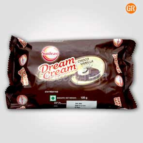 Sunfeast Dream Cream Chocolate & Vanilla Rs. 20