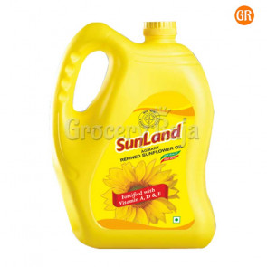 Sunland Refined Sunflower Oil 5 Ltr Can