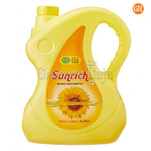 Sunrich Refined Sunflower Oil 5 Ltr Can