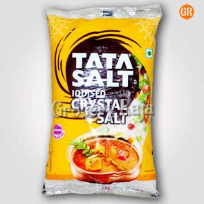 Tata Iodised Crystal Salt - Uppu (உப்பு) 1 Kg