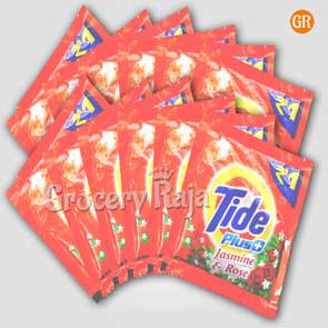 Tide Plus Jasmine & Rose Powder Rs. 1.50 Sachet (Pack of 12)