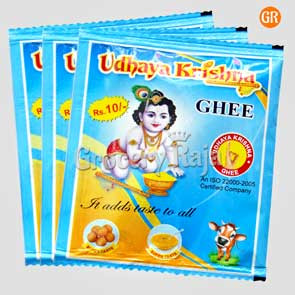 UdhayaKrishna Ghee Rs. 10 Sachet (Pack of 3)