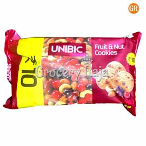 Unibic Fruits & Nut Cookies Biscuits Rs. 10