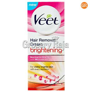 Veet Brightening Hair Removal Cream - Normal Dry Skin 25 gms