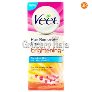 Veet Brightening Hair Removal Cream - Sensitive Skin 50 gms