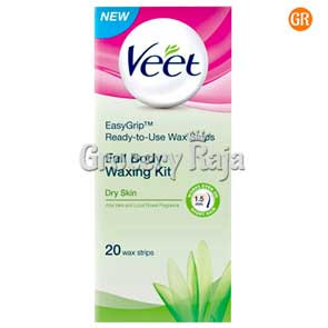 Veet Full Body Waxing Kit - Normal Skin 20 Strips