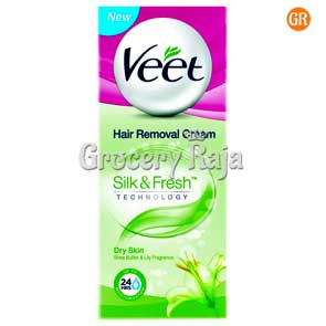 Veet Silk & Fresh Hair Removal Cream - Dry Skin 25 gms