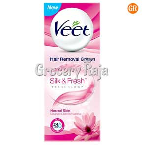 Veet Silk & Fresh Hair Removal Cream - Normal Skin 50 gms