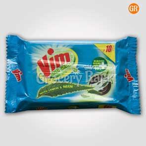 Vim Dishwash Bar - Anti Germ (Lemon & Neem) 130 gms