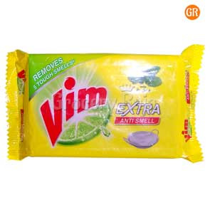 Vim Dishwash Bar Extra Anti Smell with Pudina 250 gms