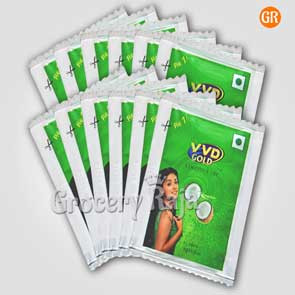 VVD Gold Cocount Oil Rs. 1 Sachet (Pack of 12)