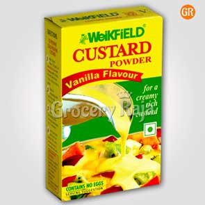 Weikfield Custard Powder - Vanilla Flavour 100 gms