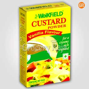 Weikfield Custard Powder - Vanilla Flavour 200 gms
