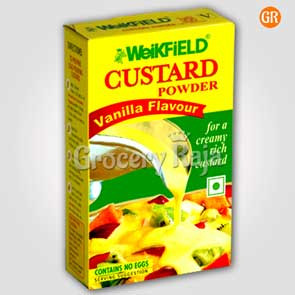 Weikfield Custard Powder - Vanilla Flavour 500 gms