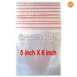 Zip Lock Covers 5x6 Inch (Pack of 100)