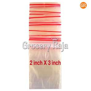Zip Lock Covers 2x3 Inch (Pack of 100)