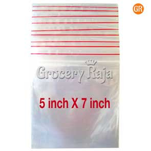 Zip Lock Covers 5x7 Inch (Pack of 100)