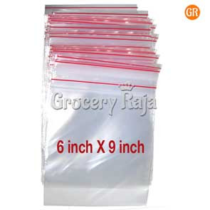 Zip Lock Covers 6x9 Inch (Pack of 100)
