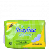 Stayfree Dry Max Ultra Thin Sanitary 8 Pads