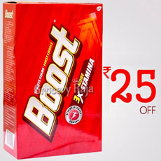 Rs. 25 Off Boost